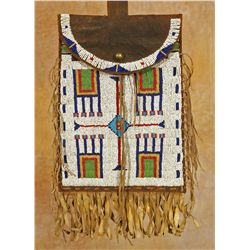 Arapaho Beaded Dispatch Bag