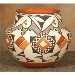 Acoma Pot by Joseph Cerno