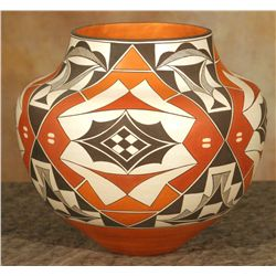 Acoma Jar by Barbara and Joseph Cerno