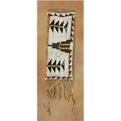 Northern Cheyenne Beaded Knife Case