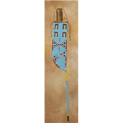 Sioux or Northern Beaded Cheyenne Knife Case