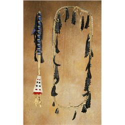 Sioux Hoof Rattle and Bandolier