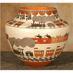 Acoma Pot by Barbara and Joseph Cerno