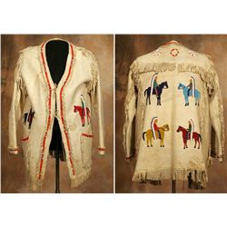 Northern Plains Pictorial Man's Jacket