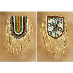 Crow Beaded Bag