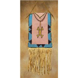 Blackfoot Beaded War Bag