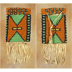 Ute Beaded Mirror Bag