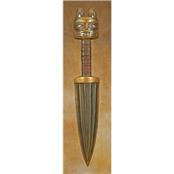 Rich Lavalle Northwest Coast Bronze Dagger