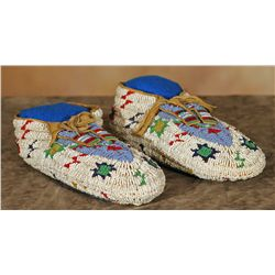 Sioux Fully Beaded Slippers