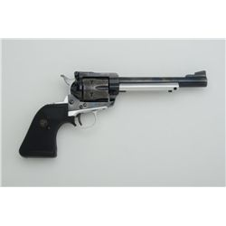 "Ruger Blackhawk single action revolver, .357  Magnum cal., 6-1/2"" barrel, blue finish with  polished"