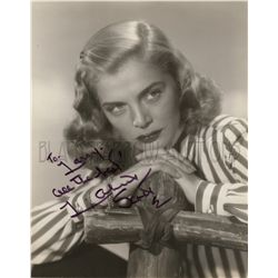 Lizabeth Scott Original Vintage Signed Photo
