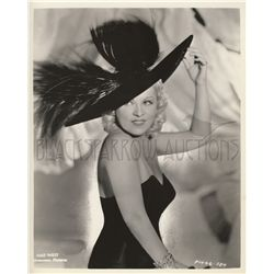 Mae West Original Vintage Photo