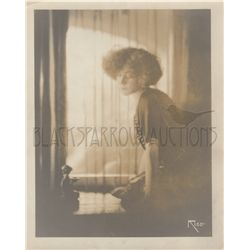 Alla Nazimova Original Vintage Soft Focus Sepia Photo by Arthur Rice
