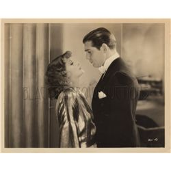 Greta Garbo and Clark Gable Original Vintage Photo Still from Susan Lenox: Her Rise and Fall