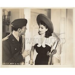 Rita Hayworth and Fred Astaire Original Vintage Photo Still from You'll Never Get Rich