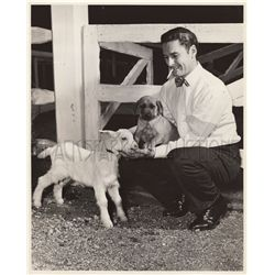Errol Flynn Original Vintage Photo by Schuyler Crail