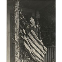 Collection of 4 patriotic theme vintage photos of Florence Vidor, Janice Meredith & Esther Williams