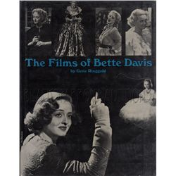 The Films of Bette Davis Signed Book