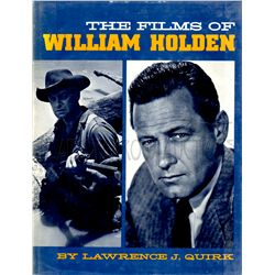 The Films of William Holden Signed Book