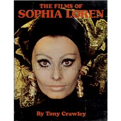 The Films of Sophia Loren Signed Book