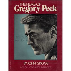 The Films of Gregory Peck Signed Book