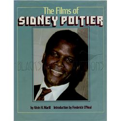 The Films of Sidney Poitier Signed Book