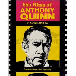 The Films of Anthony Quinn Signed Book