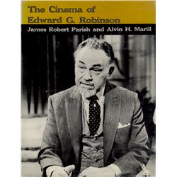 The Cinema of Edward G. Robinson Signed Book