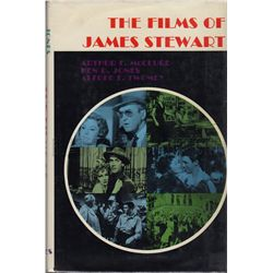 The Films of James Stewart Signed Book