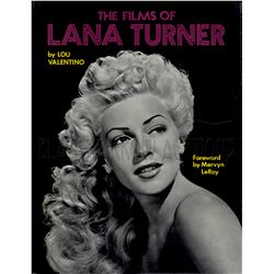 The Films of Lana Turner Signed Book
