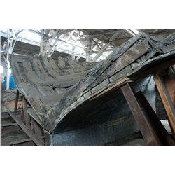 ,-,The Hull of the SS Candace, an 1850's Gold Rush Ship