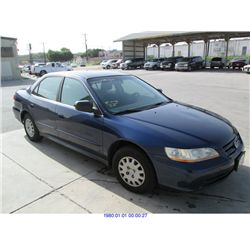 2002 - HONDA ACCORD