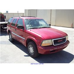 2001 - GMC JIMMY// REBUILT SALVAGE