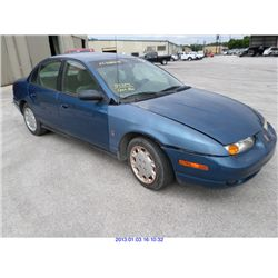 2001 - SATURN S-SERIES // REBUILT SALVAGE