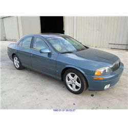 2001 - LINCOLN LS