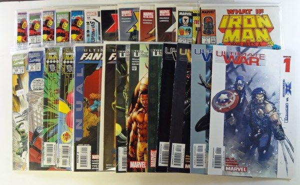 25 Comic Books All Marvel 1980 S 90 S Early 2000 S
