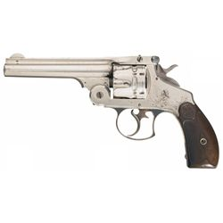 Historic Smith & Wesson .44 Double Action First Model Revolver Once Belonging to Infamous Outlaw Emm
