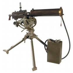 Very Desirable Fully Functional Class III N.E. Westinghouse Browning Model 1917 Machine Gun with Tri