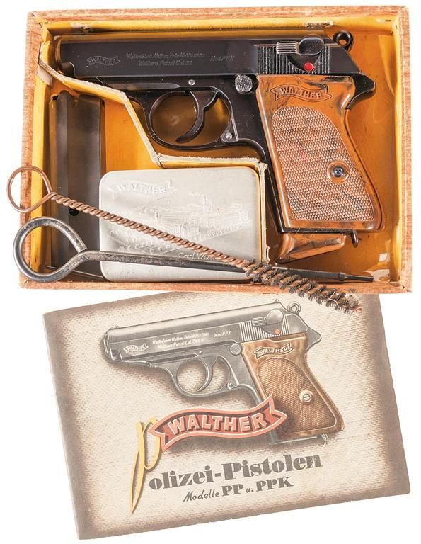 exceptional pre world war ii walther ppk in 22lr complete with rh icollector com Walter P22 Walther PPK 9Mm