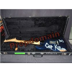 COP KILLER ICE-T & BODY COUNT VIDEO MATCHED & TOUR USED GUITAR MOST INFAMOUS INSTRUMENT IN HISTORY!