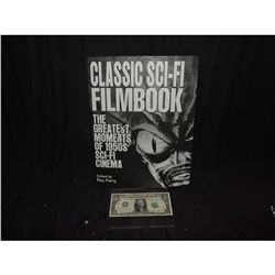 FAMOUS MONSTERS CLASSIC SCI/FI COFFEE TABLE FILM BOOK  NO RESERVE!