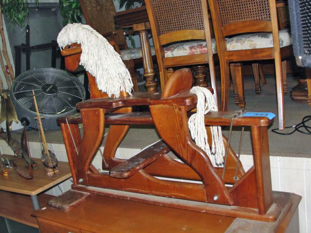 Hand crafted wooden rocking horse for Hand crafted rocking horse