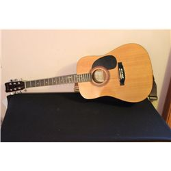 ACOUSTIC HOHNER GUITAR - HANDCRAFTED IN CHINA - NEAR