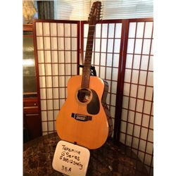 G335 12 string acoustic electric guitar Great shape