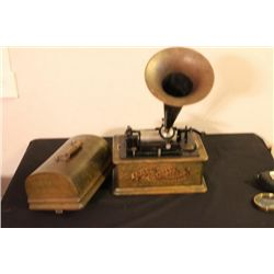 EDISON STANDARD PHONOGRAPH CYLINDER PLAYER PAT. 1903