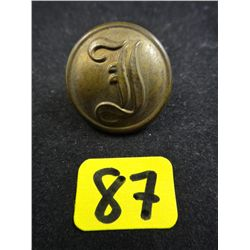 Authentic Confederate Infantry Coat Button