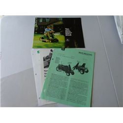 Lot of Advertising for JD Eletric Riding Mower