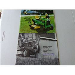 John Deere Product Info Booklets - Weekend Free