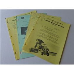 Lot of General Bulletin Service from JD Company