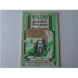 Bolens Garden Tractors & Attachments Catalog